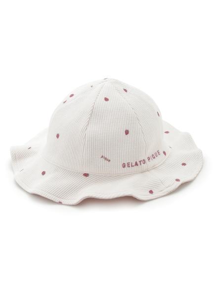 【BABY】華夫格草莓帽子