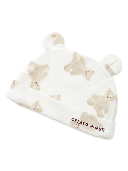 小熊圖案baby帽子