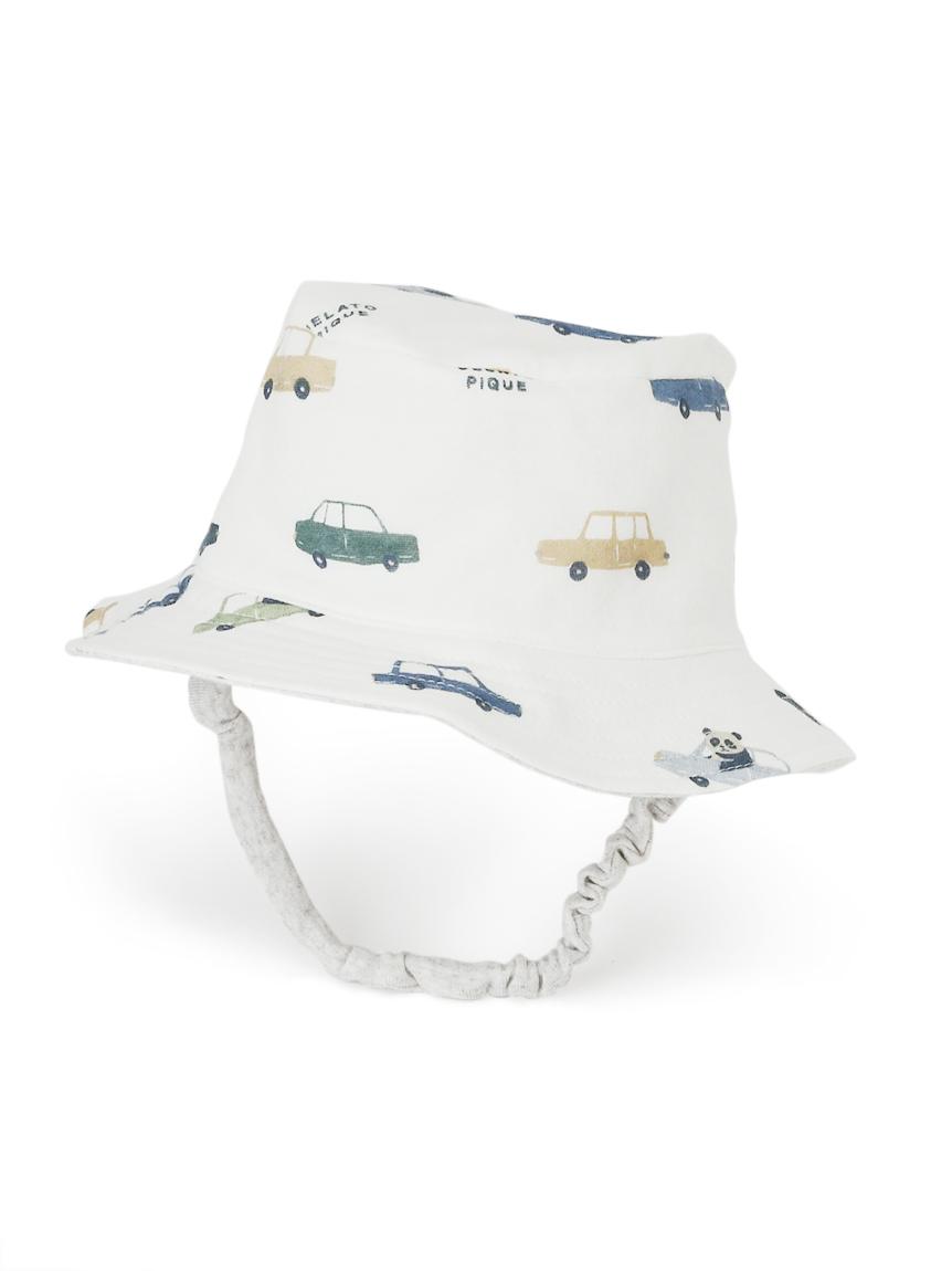 【BABY】熊貓車車嬰兒遮陽帽
