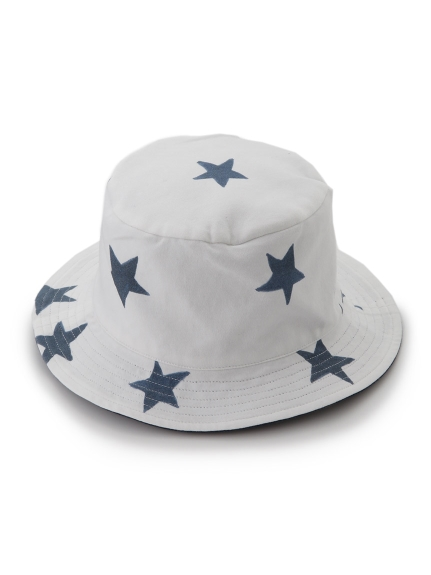 【BABY】星星印花遮陽帽