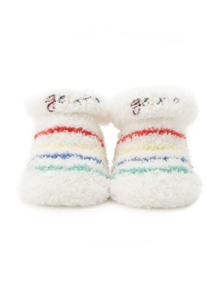塗鴉線條 baby 襪子