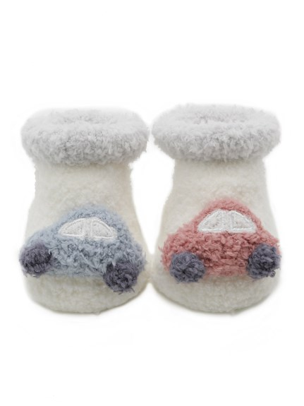 ' babymoco ' 汽車造型baby襪子