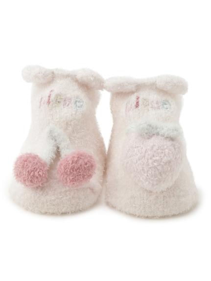' smoothie ' 北極熊水果造型baby襪子