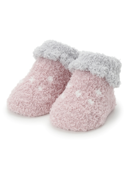 【BABY】'baby moco'草莓嬰兒襪
