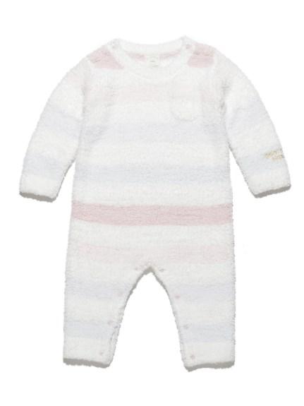 ' powder ' 5條紋baby連身衣