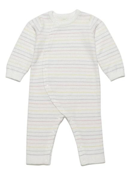 ' smoothie ' 配色條紋baby連身衣