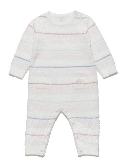' smoothie ' 彩色條紋baby連身衣