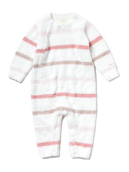 【BABY】' babymoco '色塊條紋連身褲