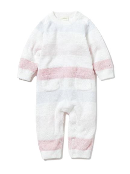 【BABY】smoothie 4色條紋連身衣