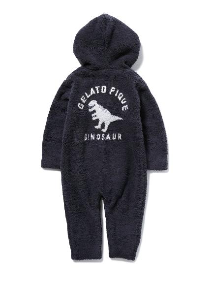 【BABY】BABY MOCO恐龍緹花 baby連身衣