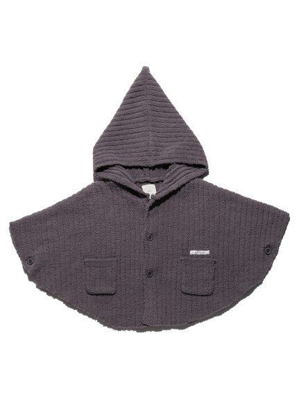 【BABY】螺紋連帽斗篷