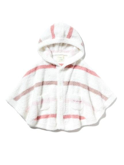 【BABY】' babymoco '色塊條紋baby斗篷