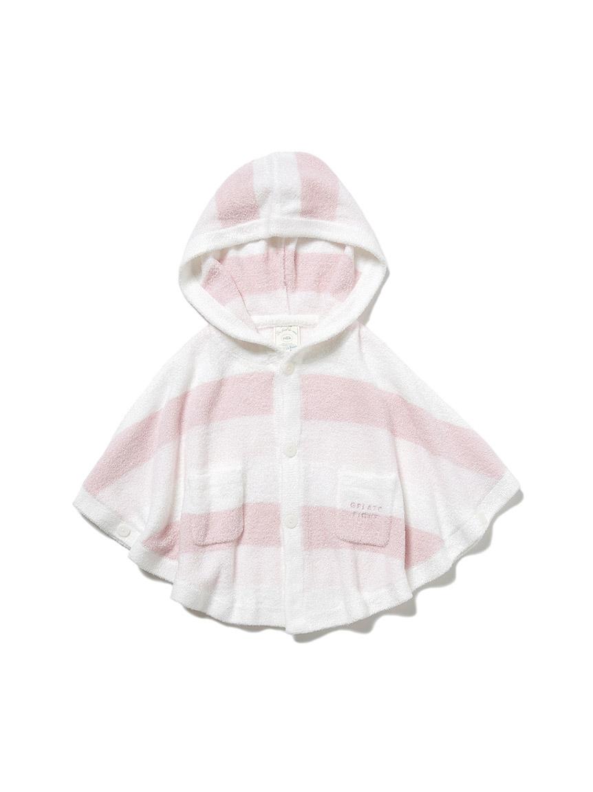 【BABY】再生smoothie 三色條紋斗篷