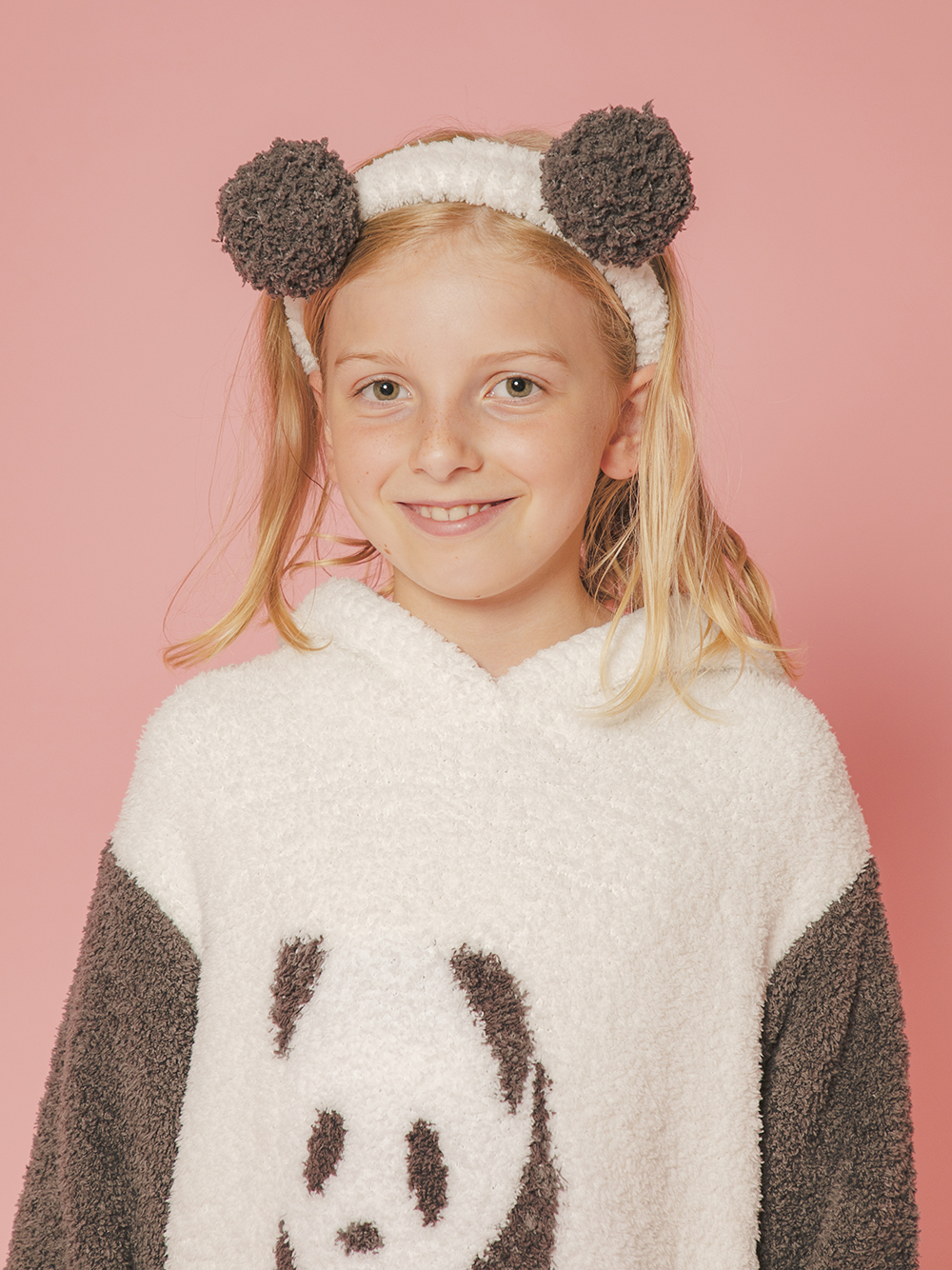 【ONLINE限定】【JUNIOR】熊貓造型髮帶