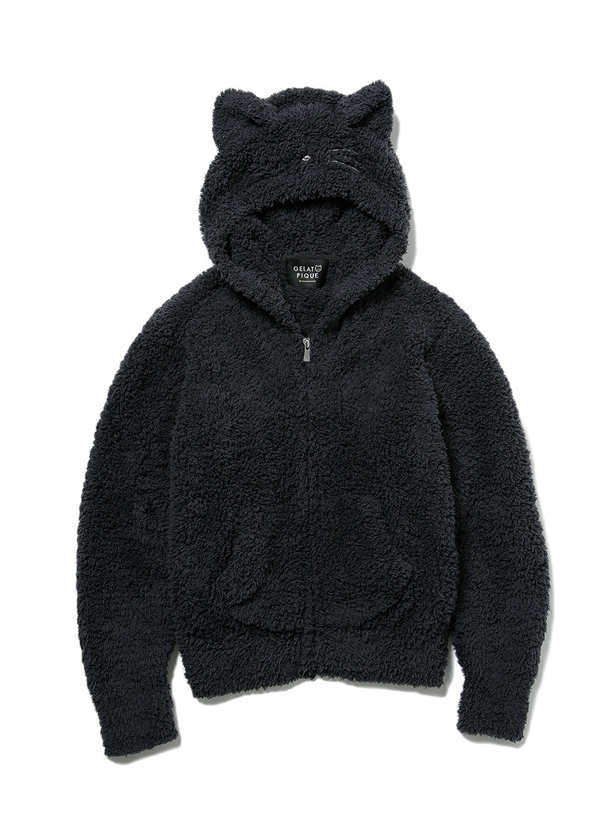 【JUNIOR網路限定】【Halloween限定】GELATO黑貓外套