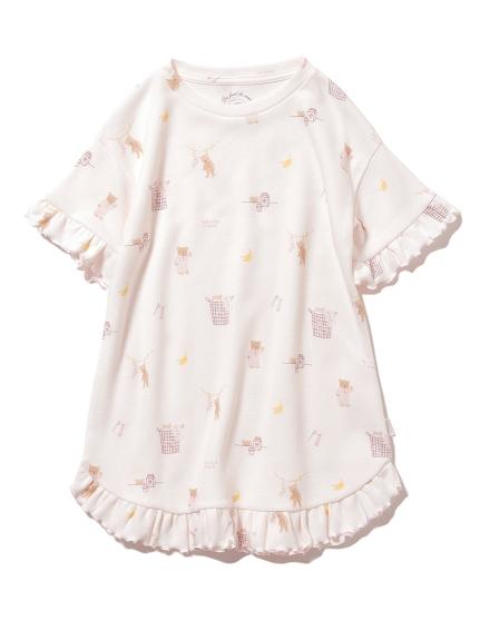 【KIDS】早安小熊 兒童洋裝