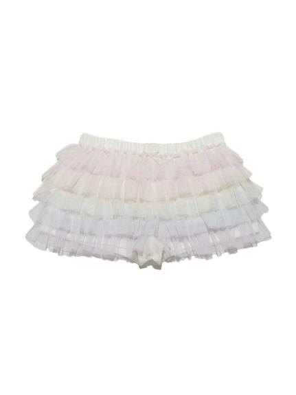 彩虹蕾絲層次kids短褲