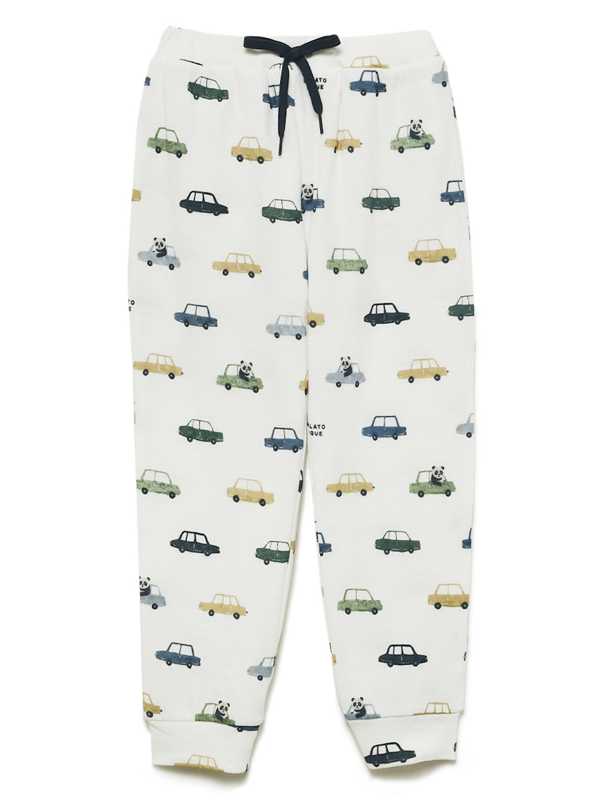 【KIDS】熊貓車車孩童長褲
