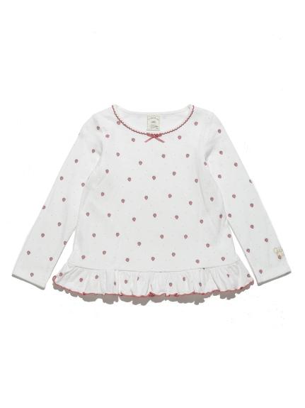 草莓印花kids上衣
