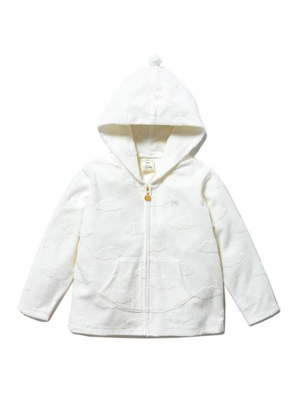 【KIDS】雲朵印花kids連帽外套