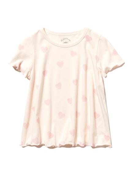 愛心圖案kids T-Shirt