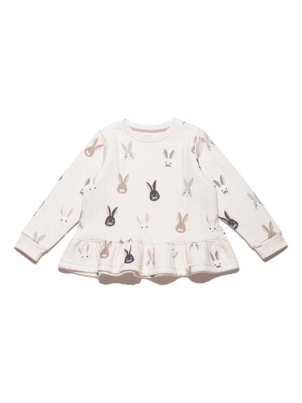 兔子圖案kids上衣