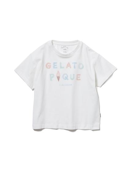 【KIDS】冰淇淋LOGO 涼感T-Shirt