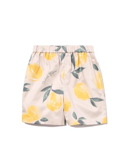【KIDS】水果印花童裝夏威夷短褲
