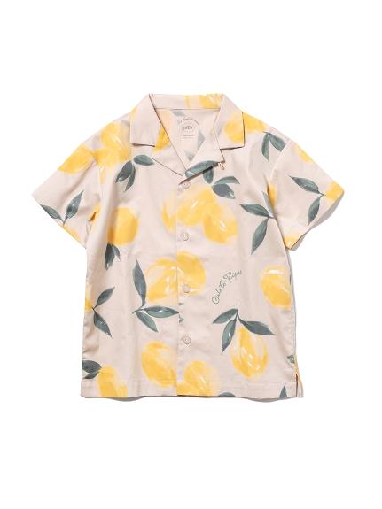 【KIDS】水果印花童裝夏威夷襯衫