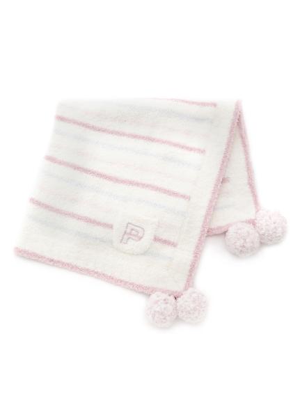 ' powder ' LOGO刺繡kids毛毯