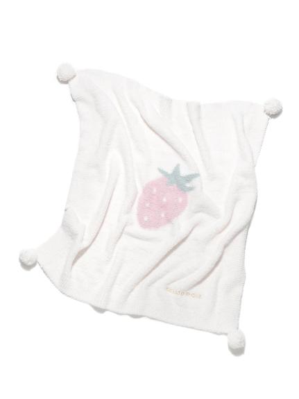 ' babymoco ' 草莓kids毛毯