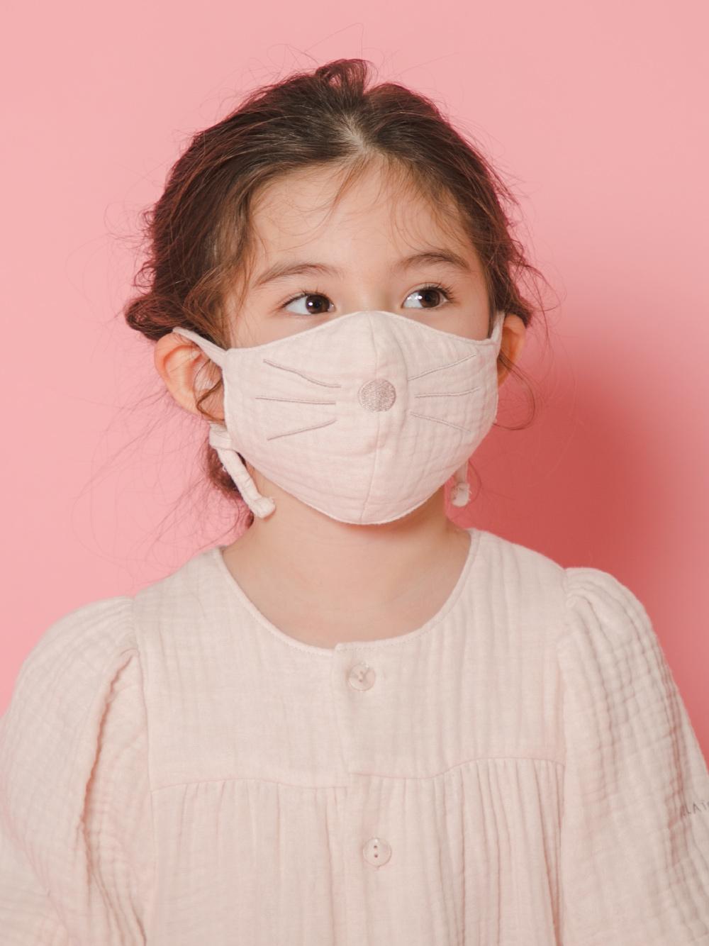 【KIDS】動物造型純棉 兒童口罩