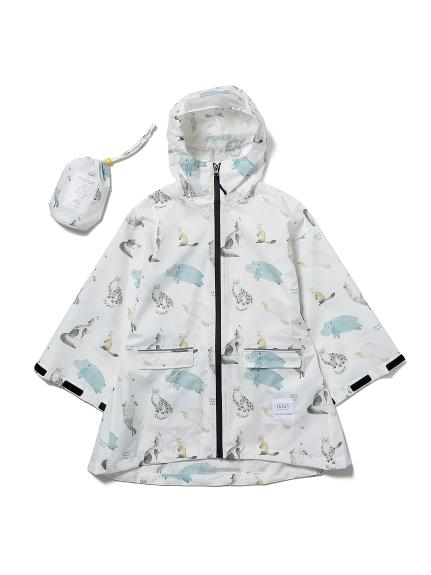 【KIDS】【旭山動物園】兒童雨衣