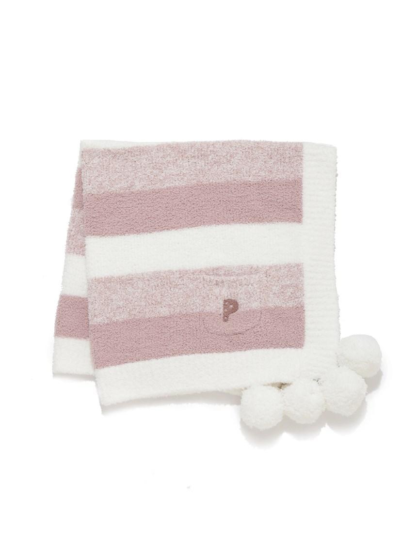 【KIDS】baby moco條紋編織小毯