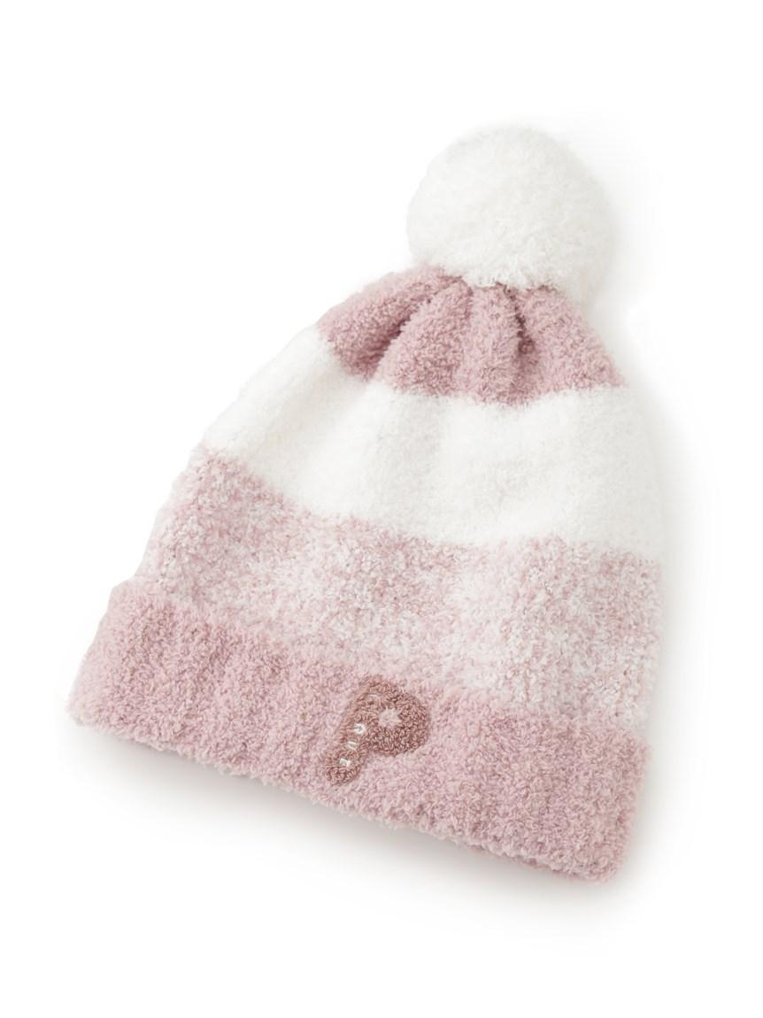 【KIDS】baby moco條紋編織帽