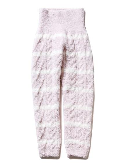 【KIDS】編織感條紋長褲