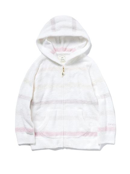 【KIDS】smoothie 6色條紋 kids 連帽外套