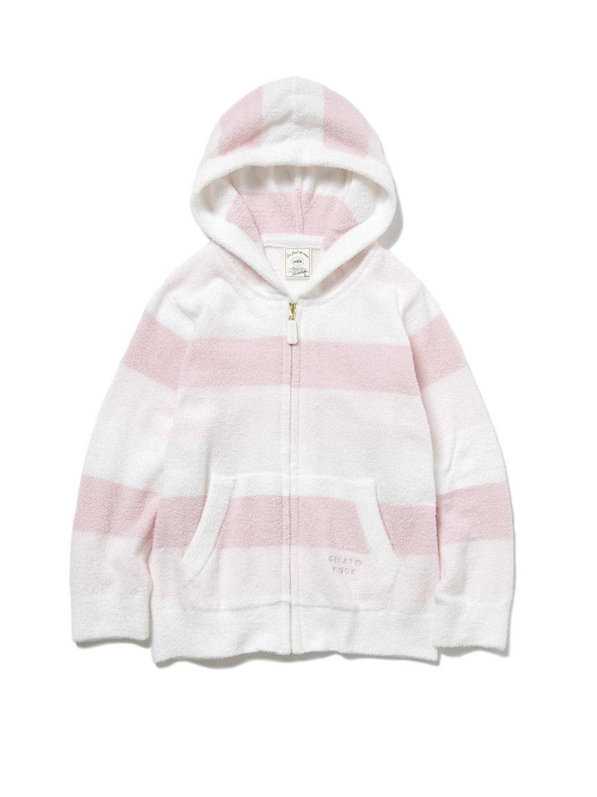 【KIDS】再生smoothie 三色條紋外套