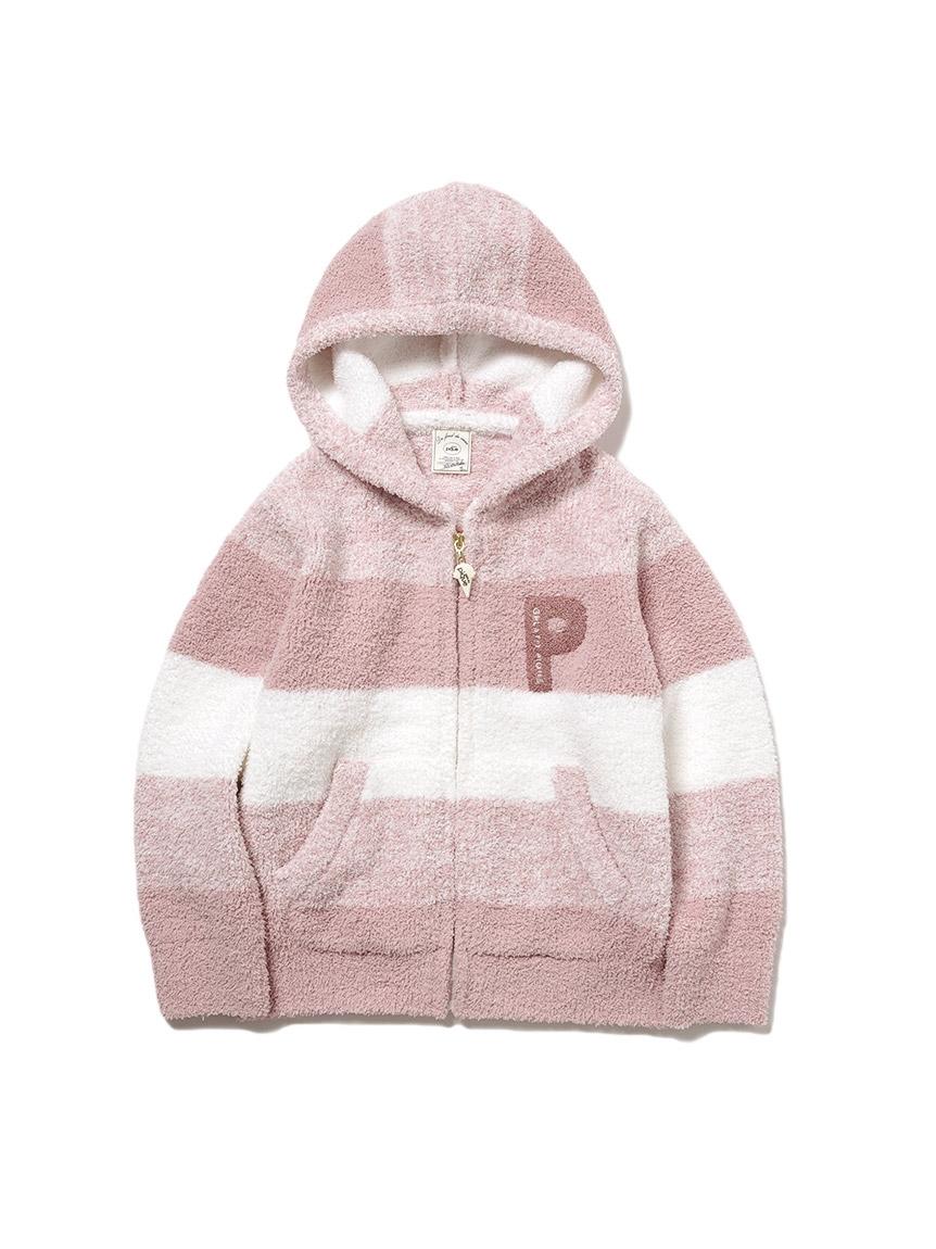 【KIDS】baby moco條紋編織外套