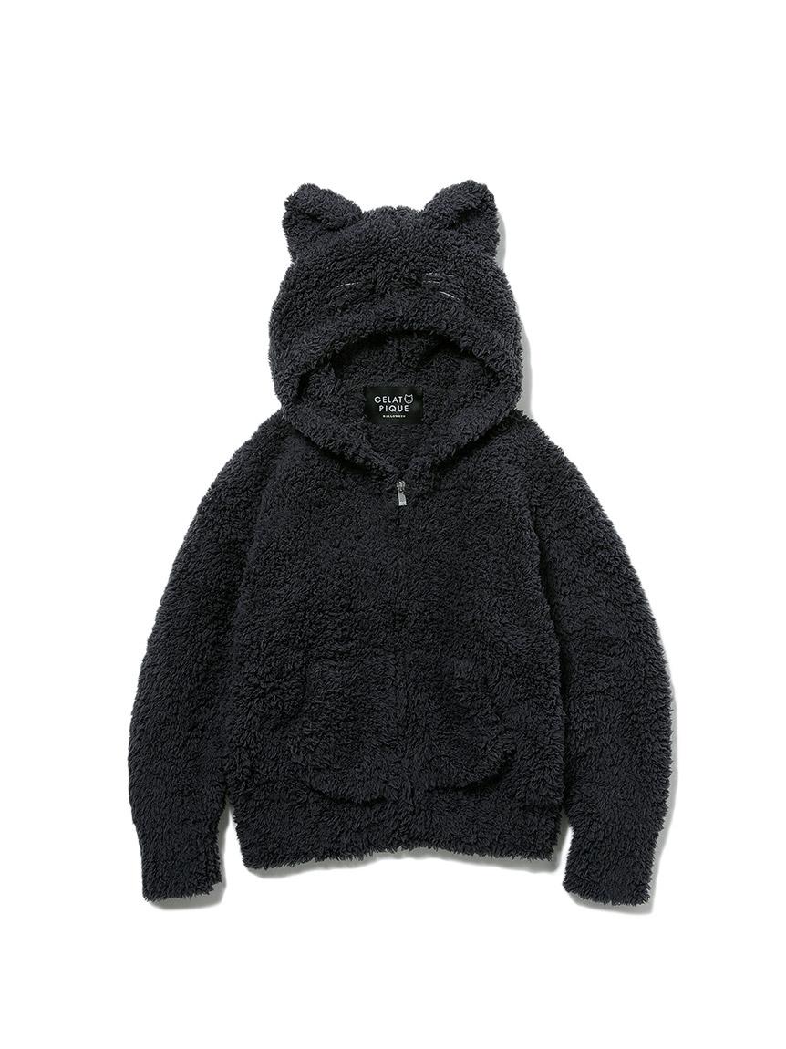 【KIDS】【Halloween限定】GELATO黑貓外套