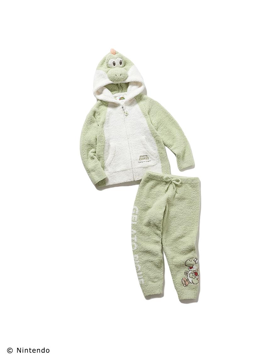 【超級瑪利歐】】KIDS-耀西外套&長褲套裝