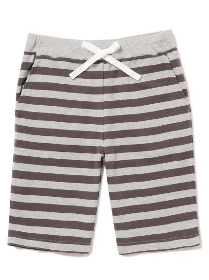 【GELATO PIQUE HOMME】條紋短褲