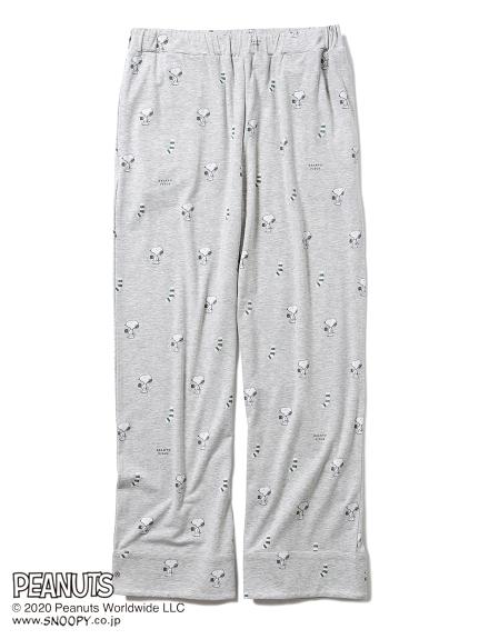 【PEANUTS】SNOOPY長褲(HOMME)