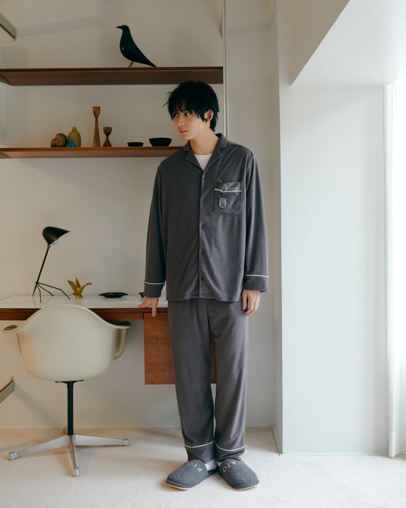 【HOMME】法蘭絨男裝長褲