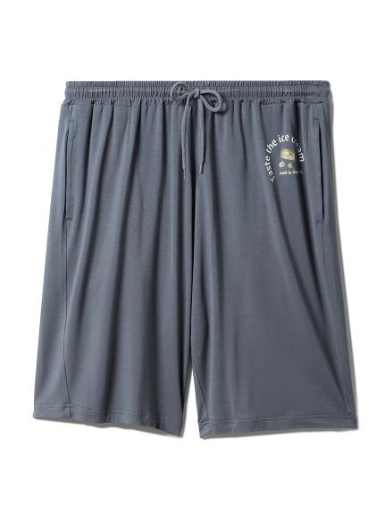 【HOMME】嫘縈文字短褲