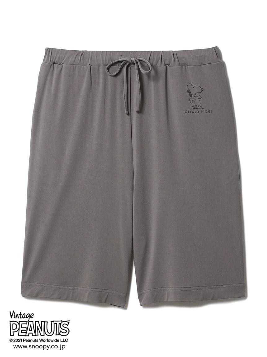 【PEANUTS】HOMME 印花嫘縈短褲(男裝)