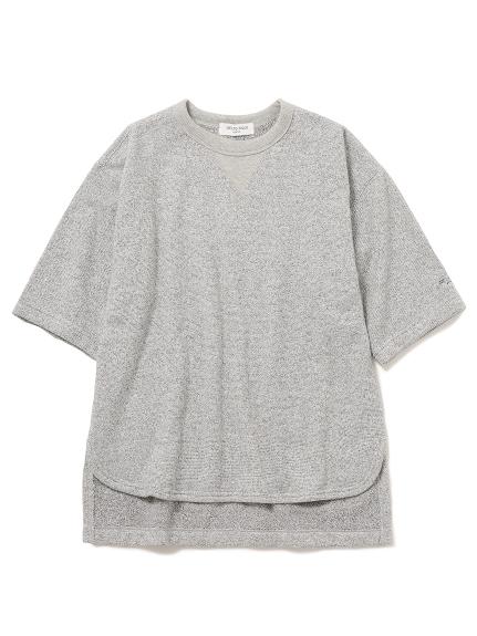【GELATO PIQUE HOMME】混色毛圈短袖上衣