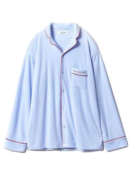 【GELATOPIQUEHOMME】短絨毛滾邊襯衫睡衣