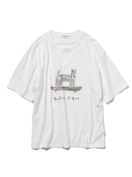 【HOMME】[聯名]夏日插畫T-Shirt(男裝)