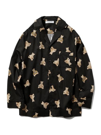 【xmas限定】HOMME小熊法蘭絨襯衫
